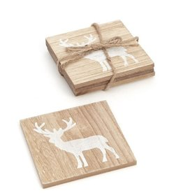 ADV Coaster S/4 - Wooden Deer
