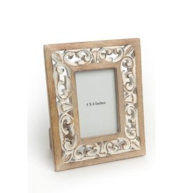ADV Carved Wooden Frame - 4x6