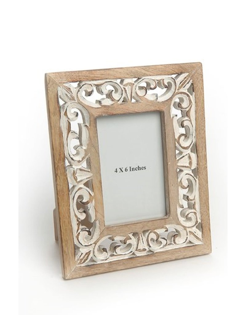 Adv Carved Wooden Frame 4x6