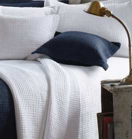 Brunelli Casa White Quilted Duvet Set - Queen