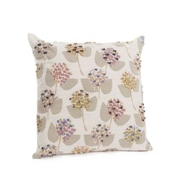 ADV Toss Pillow - Floral Embroidered 20x20