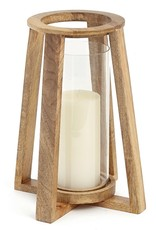 ADV Natural Wooden Lantern - Small