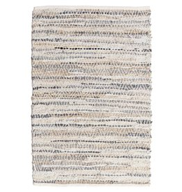 ADV Leather Rag Rug - 2x3