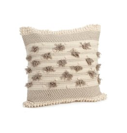 ADV Toss Pillow - Bubble Fringe 24x24