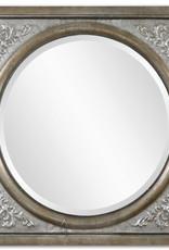 Uttermost Ireneus Burnished Silver Mirror