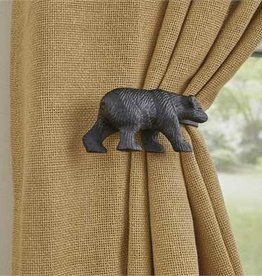 Park Design Black Bear Tie Backs