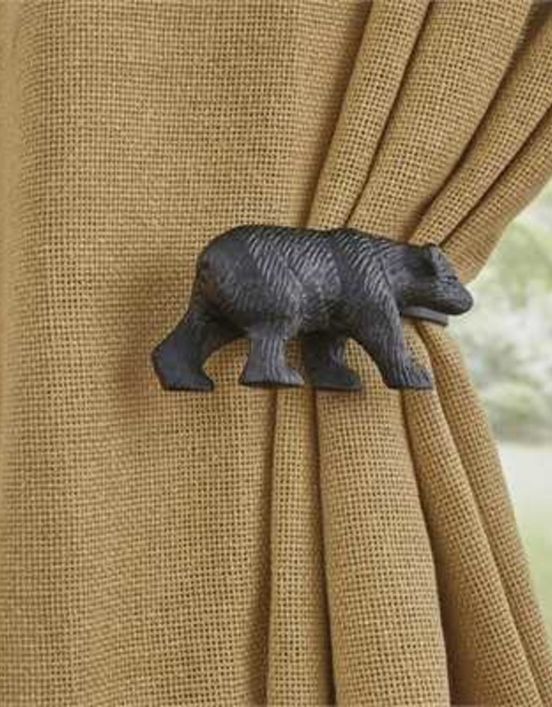Park Design Black Bear Tie Backs