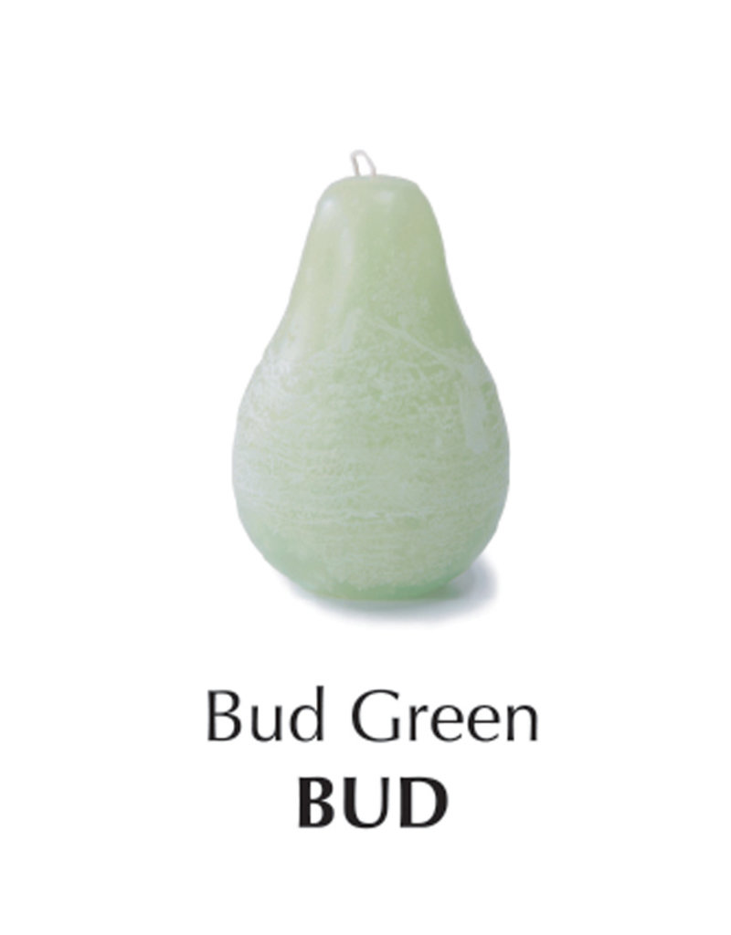 Vance Kitira Timber Pear Candle, Bud Green