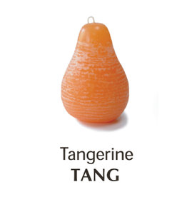 Vance Kitira Timber Pear Candle, Tangerine