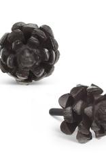 Abbott Pinecone Drawer Knob Dark Brown