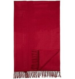 New New Horizons Throw, Cranberry, Bamboo