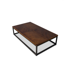 Sarreid Ltd Parquet Low Coffee Table