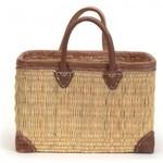 English Straw Market Bag