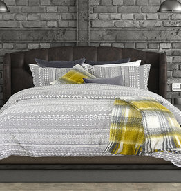 Alamode Home Abraxax Duvet Cover, DBL-Queen