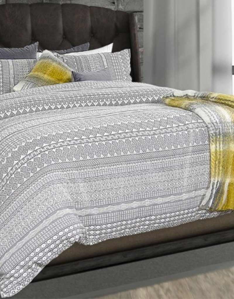 Alamode Home Abraxax Shams, S/2, Std-Queen