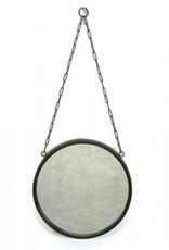 Bacon Basketware Metal & Chain Mirror - Small
