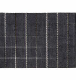 Harman Black Window Pane Placemat