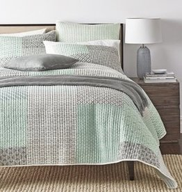 New New Horizons Seaglass Check Quilt Set