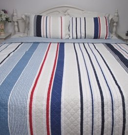 New New Horizons Boathouse Quilt Set