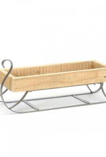Bacon Basketware Old Wood Sleigh