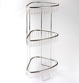 Inter Design Forma 3-Tier Shelf - Stainless Steel