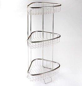 Inter Design Forma 3-Tier Shelf - Stainless Steel