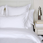 White Percale Duvet Cover - Double