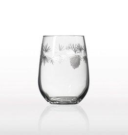 Rolf Glassware Icy Pine Red Wine Tumbler 17 oz