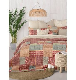 HB  Promotions Delima Quilt Set - Queen