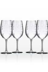 Rolf Glassware School of Fish - AP Wine Glass 19 oz
