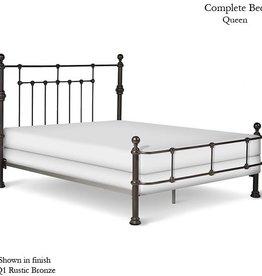 Corsican King Mendocino Iron Bed