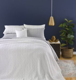 Brunelli Alix Queen Coverlet/Shams White