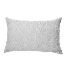 Brunelli Alix King Sham Grey 20x36