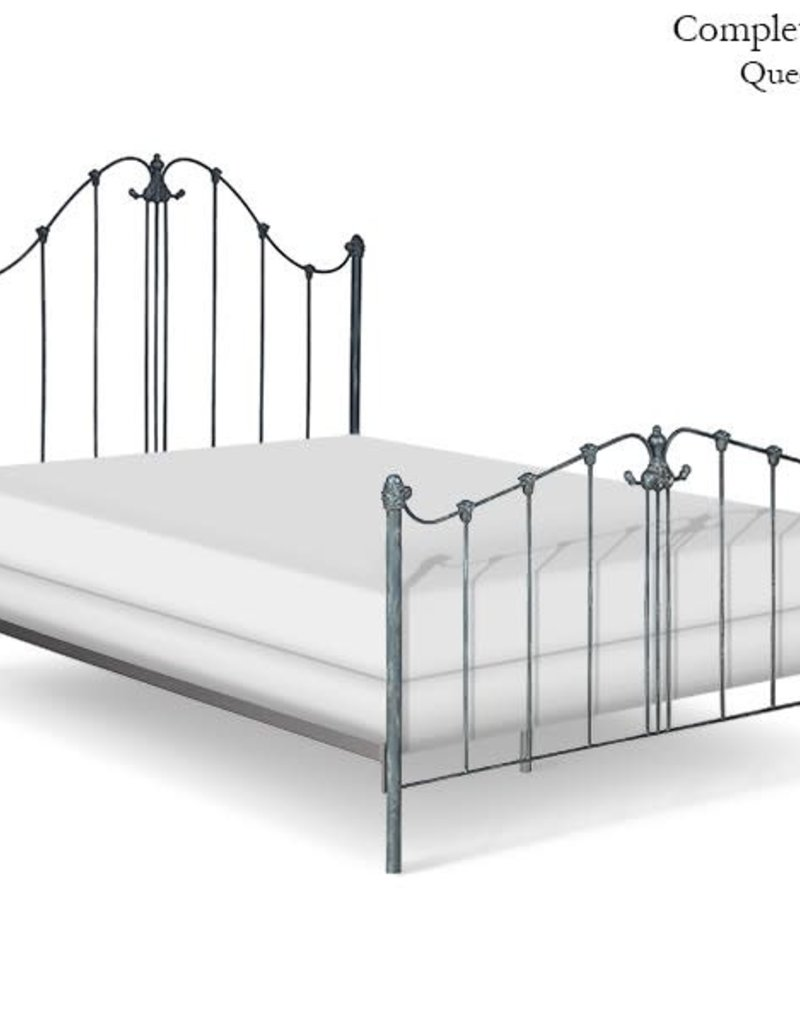 Corsican King Iron Bed -