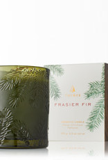 Thymes Frasier Fir Collection - Green Glass Candle