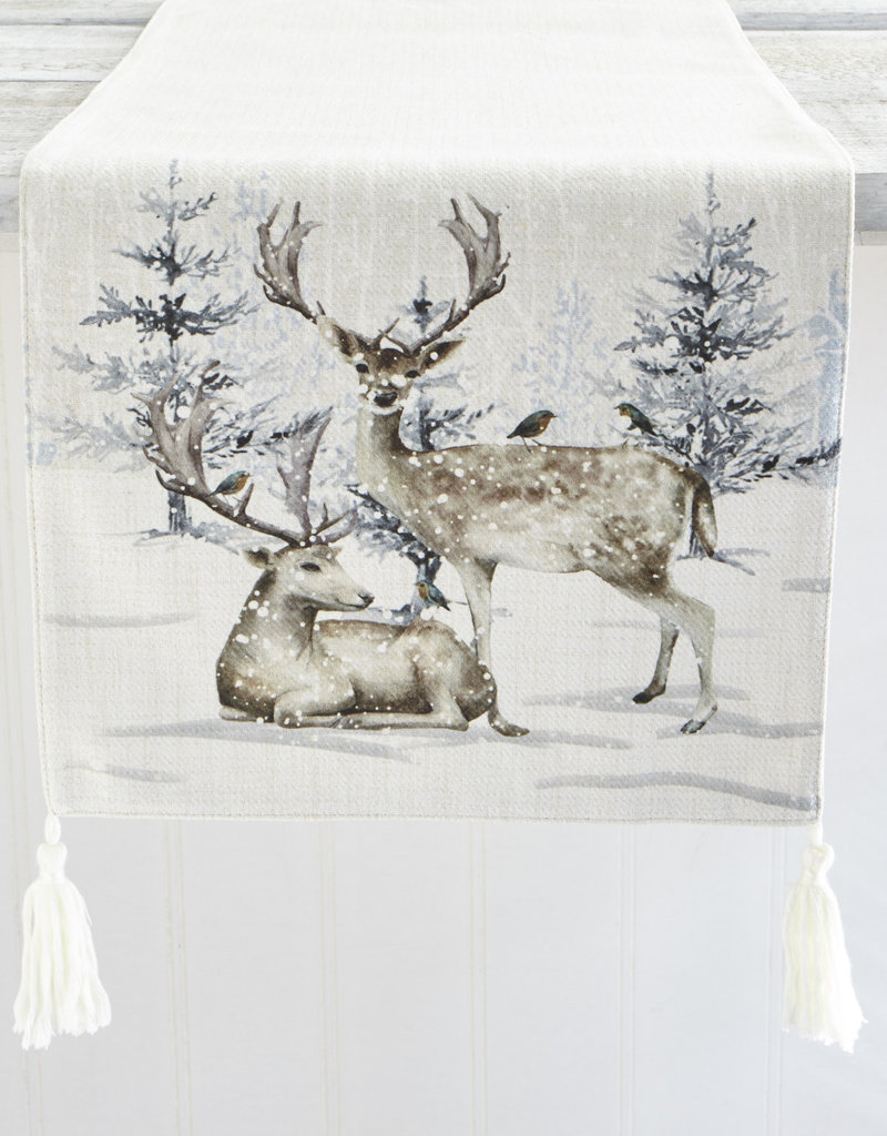 Harman Reindeer Forest Table Runner