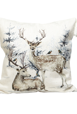 Harman Toss Pillow - Reindeer Forest 18x18
