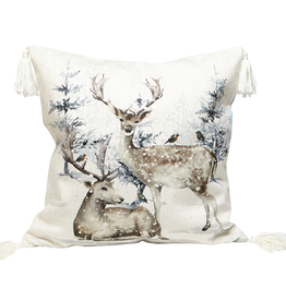 Harman Toss Pillow - Reindeer Forest 18x18