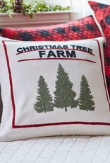 Taylor Linen Toss Pillow - Christmas Tree Farm 21x21