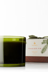 Thymes Frasier Fir Collection - 3 Wick Candle