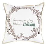 Classic Home Toss Pillow - Live Everyday 18 x 18