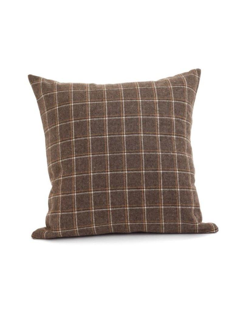 ADV Toss Pillow - Wool Check 18x18