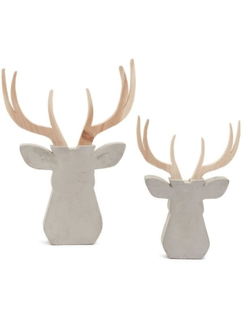 ADV Wood & Cement Deer - Large