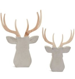 ADV Wood & Cement Deer - Small