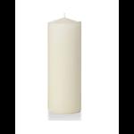 Pillar Candle, Ivory 3x8