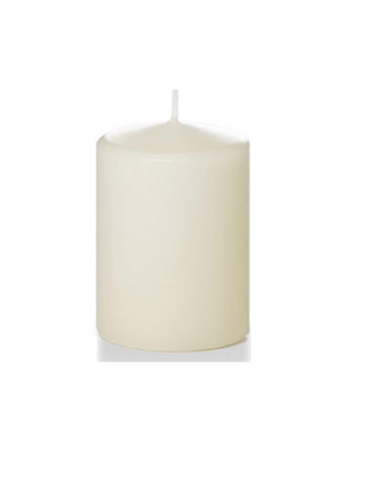 Hofland Pillar Candle, 3x4, Ivory