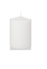 Hofland Pillar Candle, 3x4, White