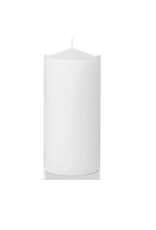 Hofland Pillar Candle, 3x6 White