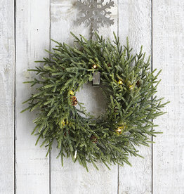 Harman Pinecone Wreath LED Accent