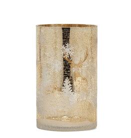 Harman Champagne Winter Candle Holder- Medium